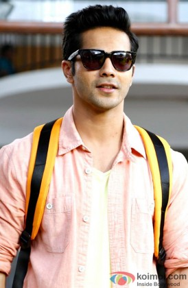 Varun Dhwan Snapped In A Cool Avatar