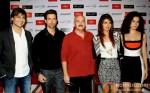 Vivek Oberoi, Hrithik Roshan, Rakesh Roshan, Priyanka Chopra And Kangana Ranaut attend Krrish 3's press conference