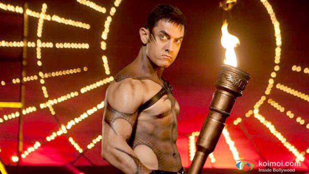 Aamir Khan in still from Dhoom 3
