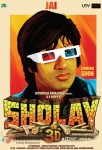 Amitabh Bachchan in Sholay 3D Movie Poster