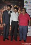 Anil Kapoor, Jayantilal Gada and Satish Kaushik at the first look launch of animation film 'Mahabharat'
