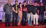 Arshad Warsi Soha Ali Khan, Rohit Shetty and Jaaved Jaaferi at first look launch of 'Mr Joe B. Carvalho'