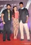 Arshad Warsi, Soha Ali Khan and Jaaved Jaaferi at first look launch of 'Mr Joe B. Carvalho' pic 1