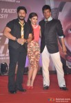 Arshad Warsi, Soha Ali Khan and Jaaved Jaaferi at first look launch of 'Mr Joe B. Carvalho' pic 2