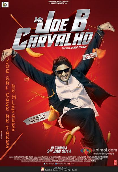 Arshad Warsi in a Mr Joe B. Carvalho movie poster