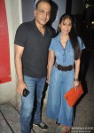 Ashutosh Gowariker and Sunita Gowariker at the special screening of Krrish 3