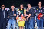 Gulshan Grover, Saif Ali Khan, Sonakshi Sinha, Jimmy Shergill and Chunky Pandey during the press conference of film 'Bullett Raja'