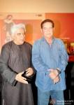 Javed Akhtar and Salim Khan at Trailer Launch of 'Sholay 3D' pic 1