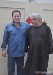Salim Khan and Javed Akhtar at Trailer Launch of 'Sholay 3D'