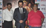 Jayantilal Gada, Anil Kapoor and Satish Kaushik at the first look launch of animation film 'Mahabharat'