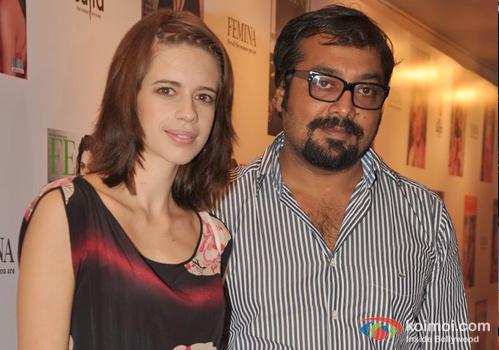 Kalki Koechlin and Anurag Kashyap at an event