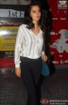 Kangana Ranaut during the screening of film Gori Tere Pyaar Mein!