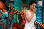 Kangana Ranaut Promotes Rajjo On The Sets Of 'Comedy Circus Ke Mahabali' pic 2