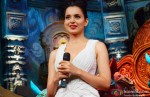 Kangana Ranaut Promotes Rajjo On The Sets Of 'Comedy Circus Ke Mahabali' pic 1