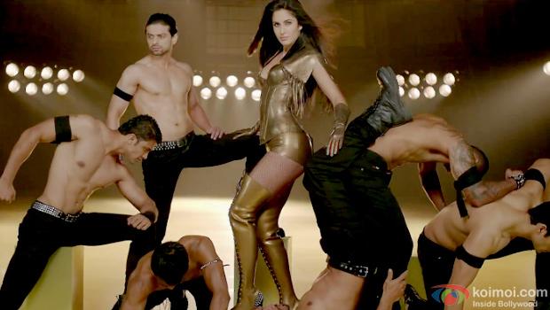 Katrina Kaif in a still from Dhoom:3