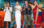 Krishna Abhishek, Kangana Ranaut, Paras Arora and Bharti Singh Promote Rajjo On The Sets Of 'Comedy Circus Ke Mahabali'