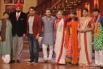 Saif Ali Khan with Navjot Singh Sidhu, Kapil Sharma, Ali Asgar and Upasana Singh promote 'Bullett Raja' on popular reality show