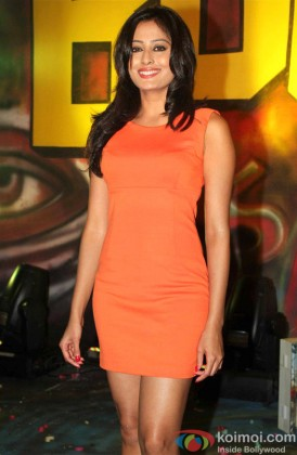 Nidhi Subbaiah during-the 'Boom Boom' Song Launch of film 'Ajab Gazabb Love'
