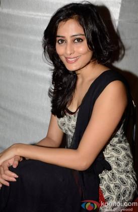 Nidhi Subbaiah during the promotional event of film 'Ajab Gazabb Love'