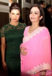 Priyanka Chopra and Nita Ambani at 'Reaching The Health Millennium Development Goals' press meet
