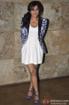 Richa Chadda Snapped At The Special Screening Of Bullett Raja