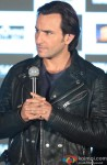Saif Ali Khan during the press conference of film 'Bullett Raja'