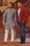 Saif Ali Khan with Kapil Sharma promote 'Bullett Raja' on popular reality show