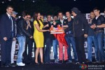 Sajid, Saif Ali Khan, Gulshan Grover, Sonakshi Sinha, Wajid, Ravi Kishan, Chunky Pandey, Ranjeet and Jimmy Shergill during the press conference of film 'Bullett Raja'