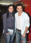 Sanjay Kapoor at the special screening of Krrish 3