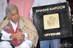 Shashi Kapoor at the unveiling of his hand imprinted tile by UTV STARS