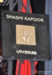Shashi Kapoor's hand imprinted tile launched by UTV STARS