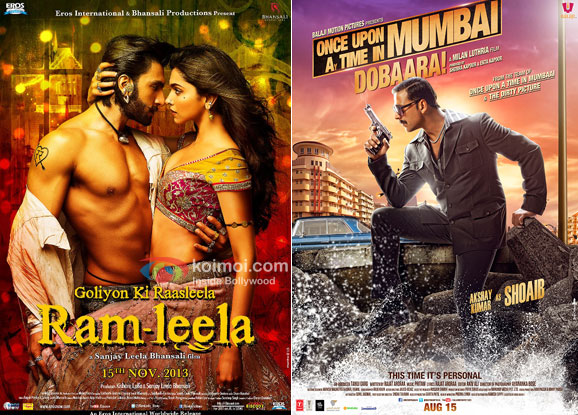 Ramleela and Once Upon Ay Time In Mumbai Dobaara! Movie Poster