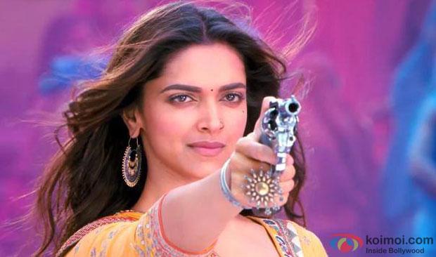 Deepika Padukone in a still from Ramleela