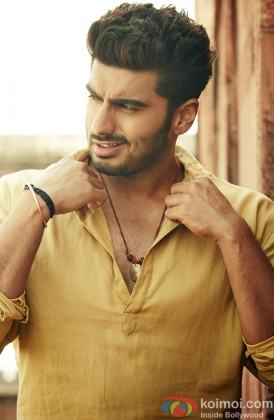 A Rowdy Arjun Kapoor Snapped At A Photo Shoot