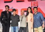 Abhishek Bachchan, Aamir Khan, Vijay Krishna Acharya, Katrina Kaif and Uday Chopra at Dhoom 3 Press Meet In Mumbai Pic 1