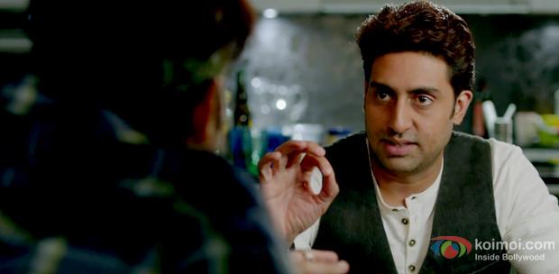 Abhishek Bachchan in a still from Dhoom 3