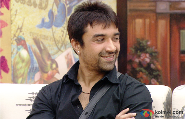 Ajaz Khan on the sets of Bigg Boss 7