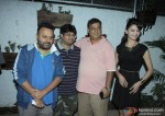 Anil Sharma, David Dhawan and Urvashi Rautela at Special Screening Of Sholay 3D