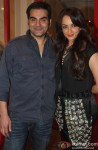 Arbaaz Khan and Seema Khan At Suzanne's Store Launch