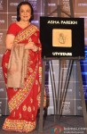 Asha Parekh Unveils Her Hand Impression Tile At UTV Stars' Walk Of The Stars Event Pic 1