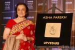 Asha Parekh Unveils Her Hand Impression Tile At UTV Stars' Walk Of The Stars Event Pic 2