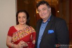 Asha Parekh Unveils Her Hand Impression Tile with Rishi Kapoor At UTV Stars' Walk Of The Stars Event