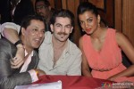 Madhur Bhandarkar, Neil Nitin Mukesh and Mugdha Godse during the 25th Anniversary Of Shiva's Stylo