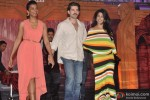Mugdha Godse, Neil Nitin Mukesh and Krishika Lulla during the 25th Anniversary Of Shiva's Stylo