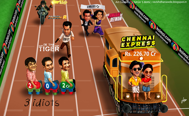 Box Office Race 2013: Dhoom 3 (Aamir Khan) V/s Chennai Express (Shah Rukh Khan)