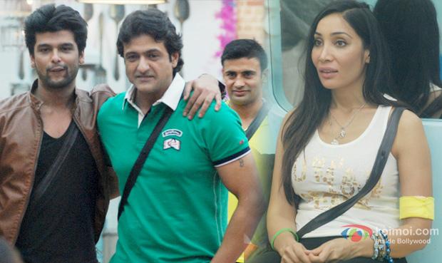 Kushal Tandon, Armaan Kohli and Sofia Hayat in Bigg Boss 7