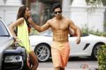 Ileana DCruz and Varun Dhawan in Main Tera Hero Movie Stills Pic 1