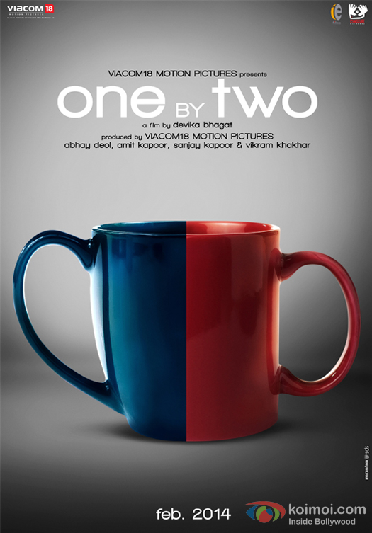 One By Two Movie First Look Poster