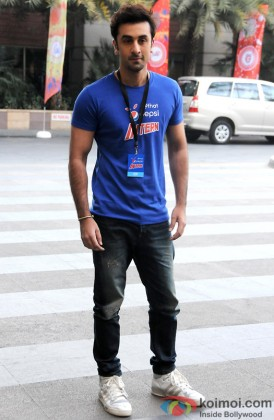 Ranbir Kapoor Looking Smart In Casuals