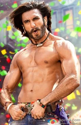 Ranveer Singh Snapped In A Dance Still